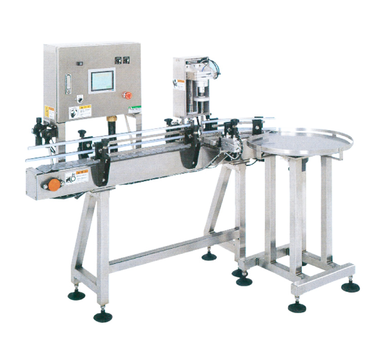 Continuous supply type Cap Tightening Machine MJC-1300