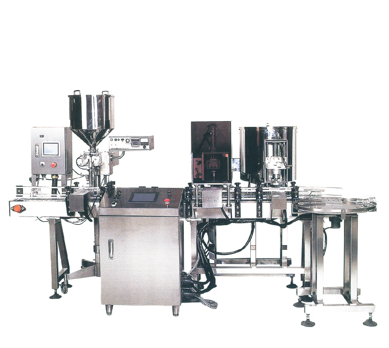 Automatic Cap Tightening Machine MJC-A1 (Connection with the filler and cap feeder)